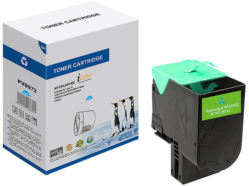 ; Kompatible Toner-Cartridges für HP-Laserdrucker